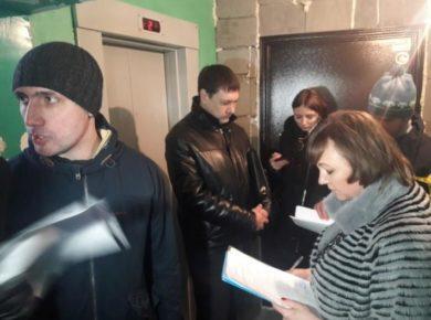 В двух домах Ангарска запуск лифтов перенесен на неопределенный срок