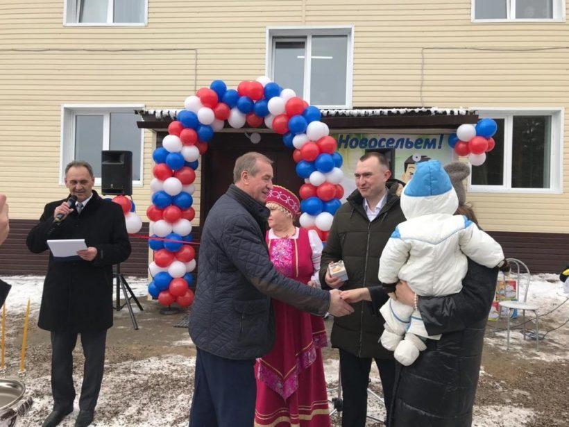В Качуге сдали многоквартирный дом для медицинских работников