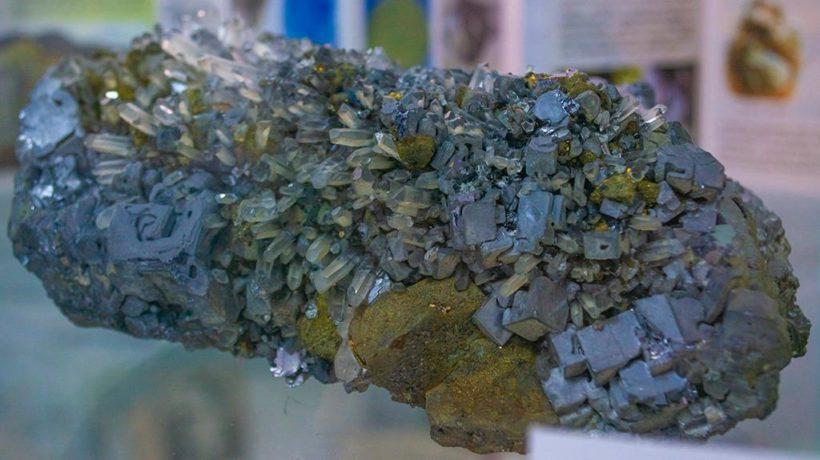 Институту земной коры – 70 лет. Фоторепортаж образцов минеральных богатств Сибири