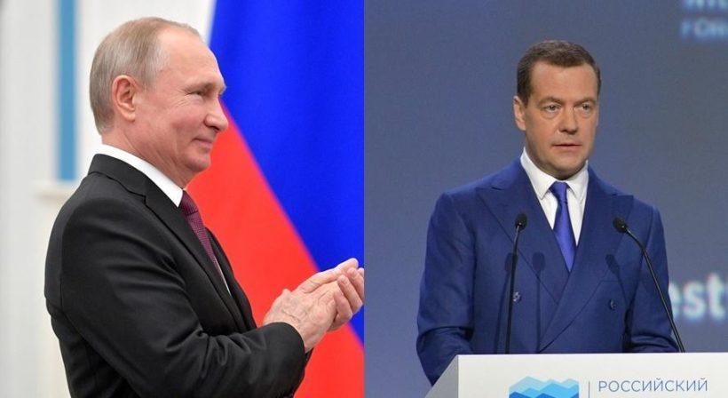 Президент и председатель правительства России отчитались о своих доходах