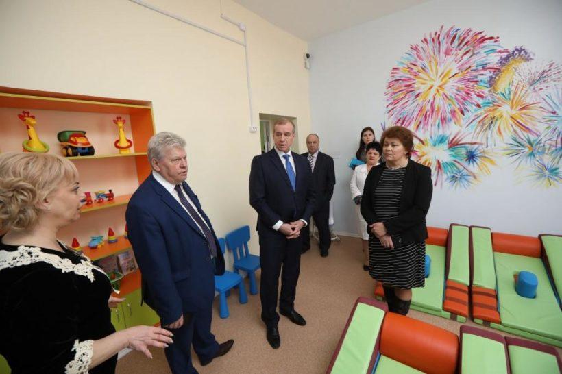 В детском доме-интернате Иркутска открылось отделения милосердия для умственно отсталых детей