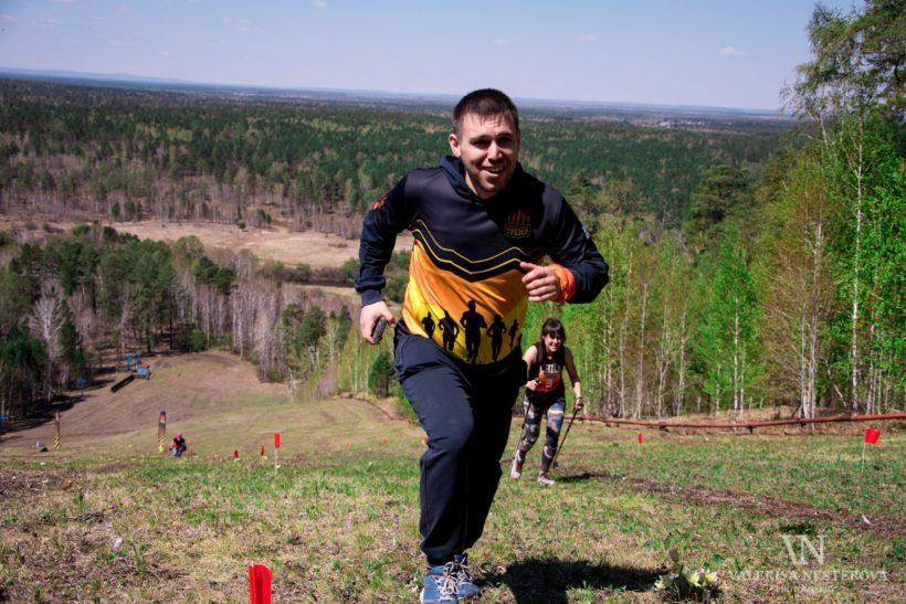 «Царь Горы 2019». Фоторепортаж с забега на горнолыжный склон «Ангарская гора»
