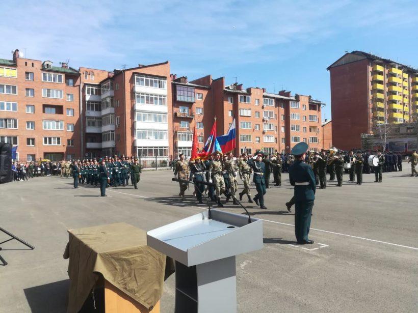 В Иркутске отметили 88-летие со дня образования ИВВАИУ и 1-ю годовщину центра «Патриот»