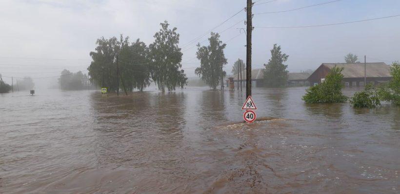 Чунский и Зиминский районы начало подтапливать в Иркутской области. В зоне затопления – уже пять районов