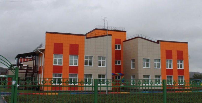 Детский сад на 240 мест открыли в Свирске