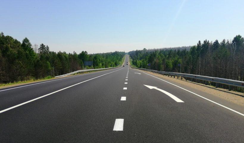 Два участка трассы «Сибирь» отремонтировали в Зиминском районе раньше срока