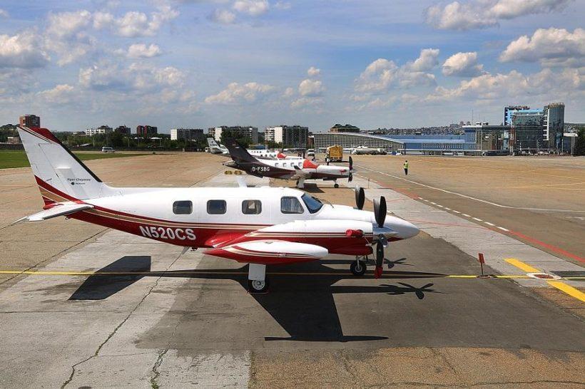 Семь самолётов, совершающих кругосветное путешествие, приземлились в Иркутске