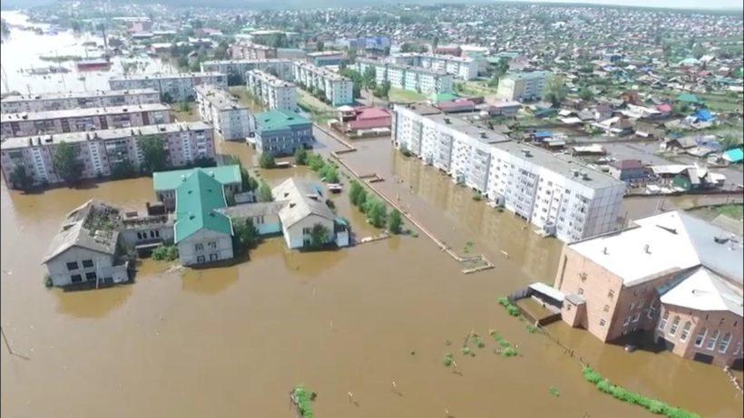 В области остается подтопленным один населенный пункт – Тулун