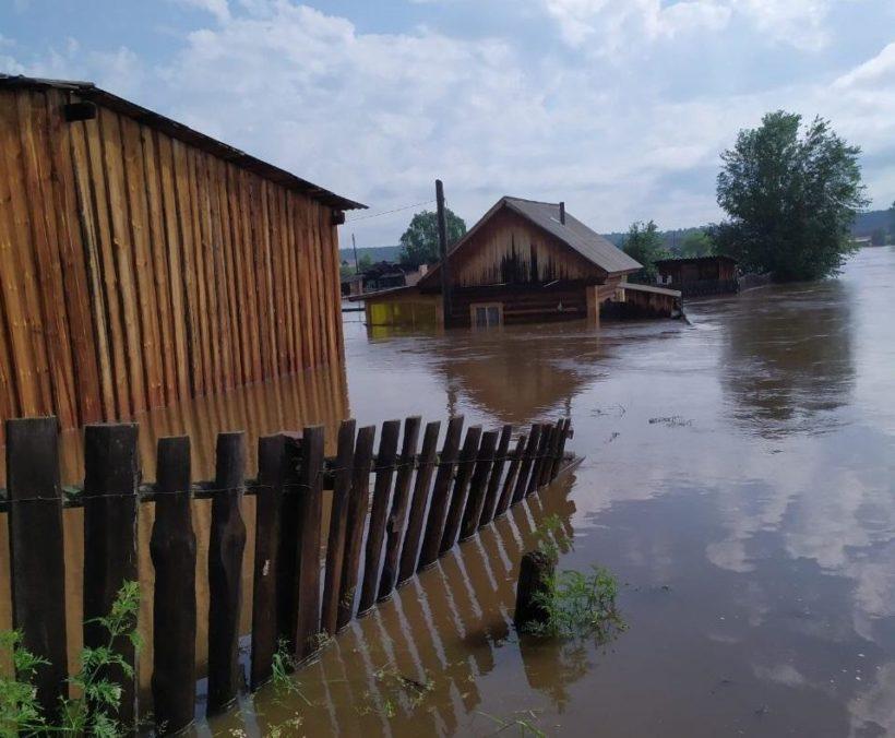 Пожилой мужчина и восьмилетний мальчик бесследно исчезли в зоне затопления в Тулунском районе