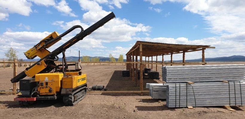 Вторую солнечную электростанцию начали монтировать в Бурятии