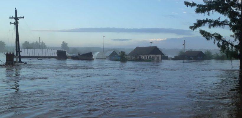 Губернатор Иркутской области посетит пострадавшие от паводка районы 29 июня