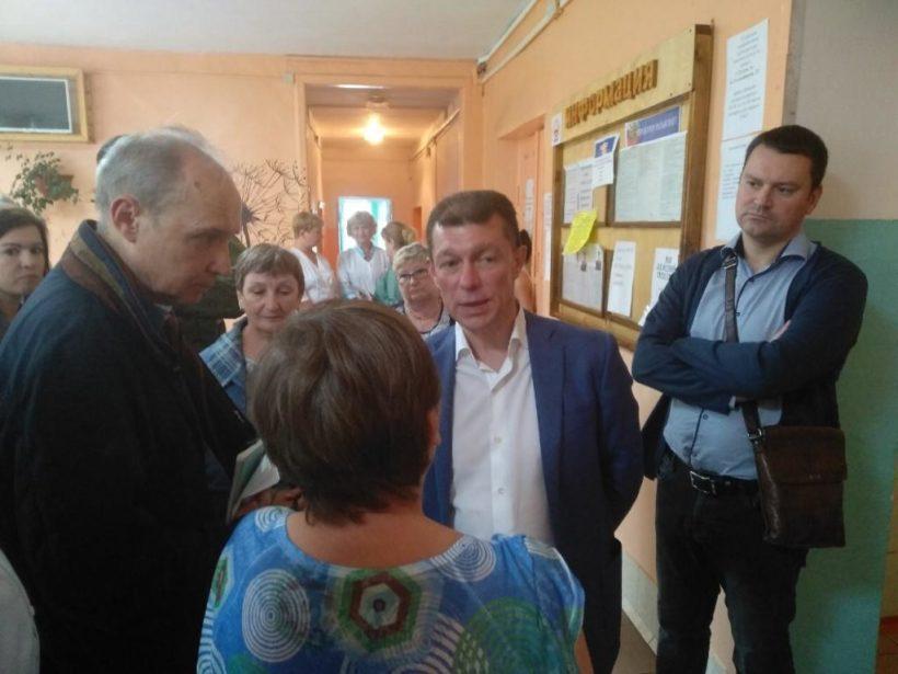 Министр труда и соцзащиты России Максим Топилин прибыл в Тулун