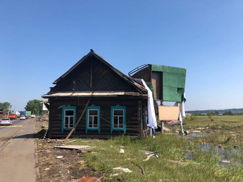 Пострадавшие в результате ЧС смогут вне очереди получить древесину для восстановления домов