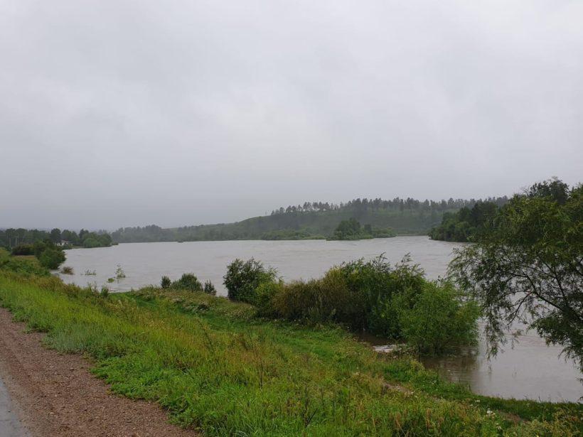 Режим ЧС введён в Шелеховском районе из-за паводков