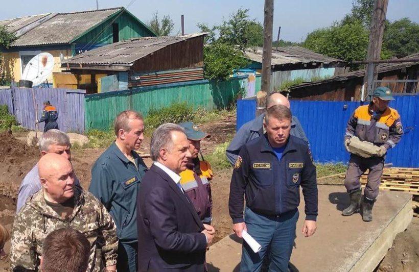 Виталий Мутко вылетит в Иркутскую область 1 августа