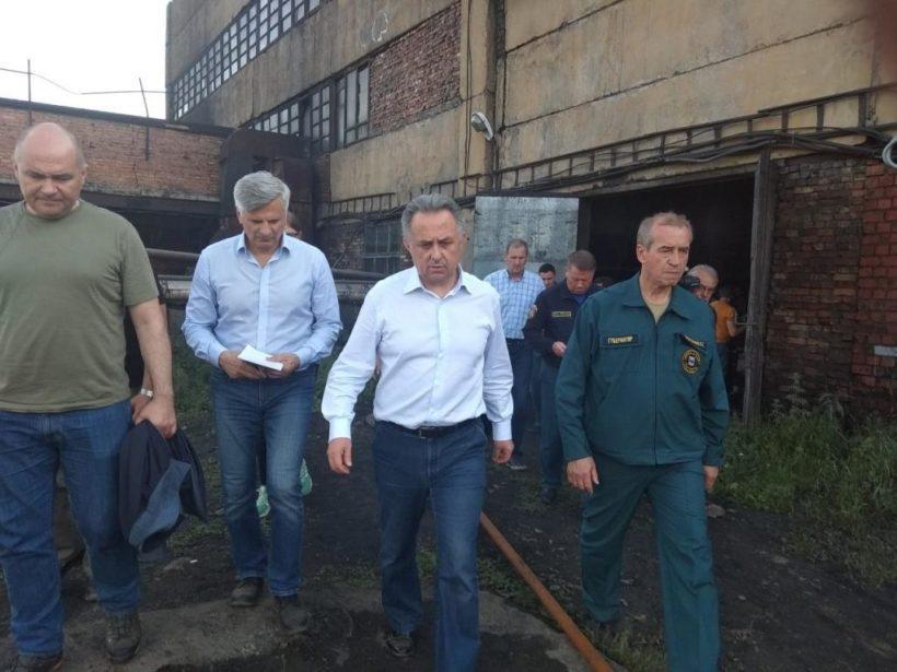 Виталий Мутко снова прибыл в Иркутскую область