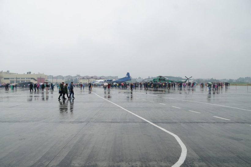 День открытых дверей на Иркутском авиационном заводе