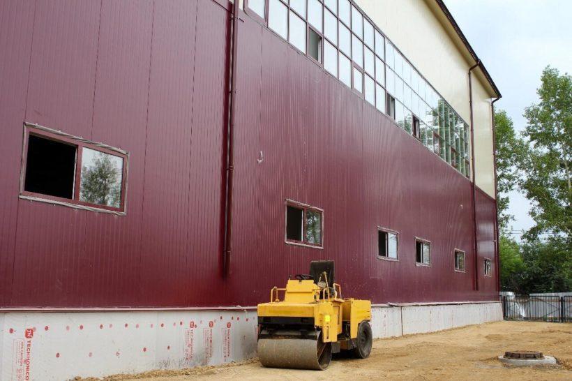 Спортивный модуль откроется при школе №29 Иркутска в сентябре