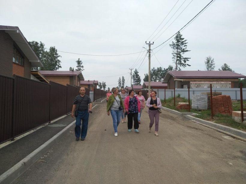 Тулунчале посетили дома в Иркутске, которые могут приобрести за жилищные сертификаты