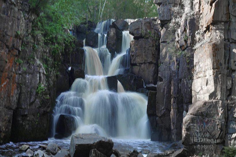 """Уковский водопад. На расстоянии """"одной ночи"""" от Иркутска"""