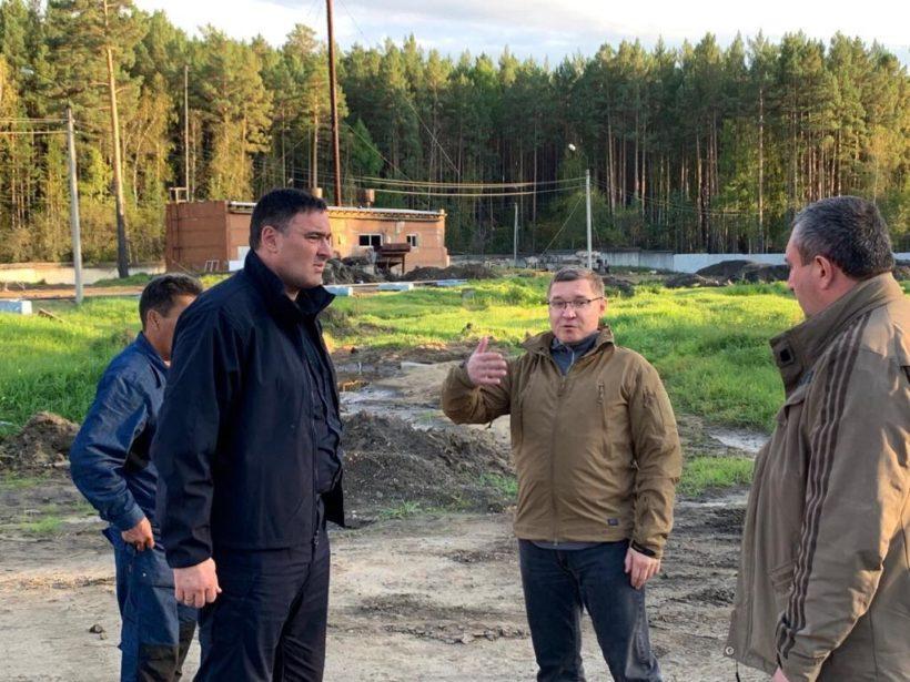 Глава Минстроя РФ находится с рабочей поездкой в Тулуне