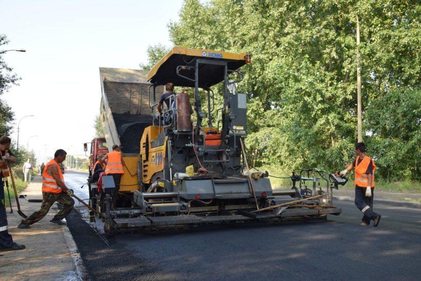На трех дорогах Братска ремонт в рамках нацпроекта выполнен более чем на 90 %