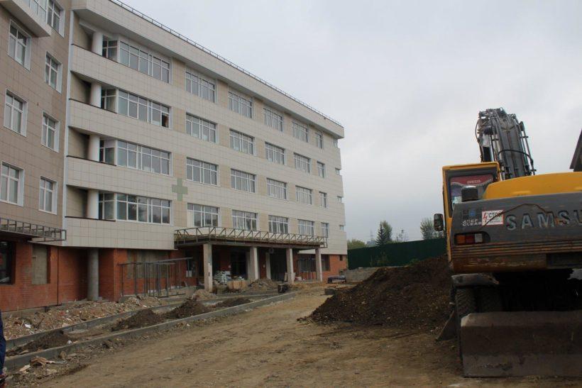Новое здание детской поликлиники №9 в Иркутске готовят к сдаче в эксплуатацию