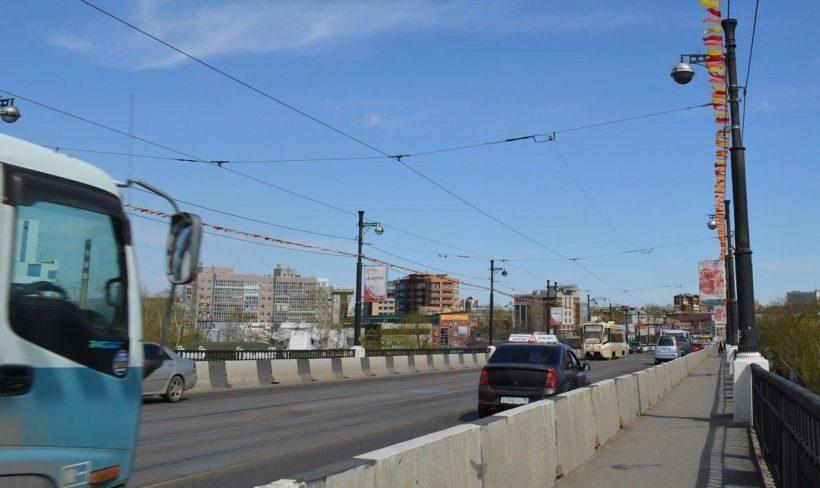 Проезд по Глазковскому мосту ограничат 14 и 15 сентября в Иркутске