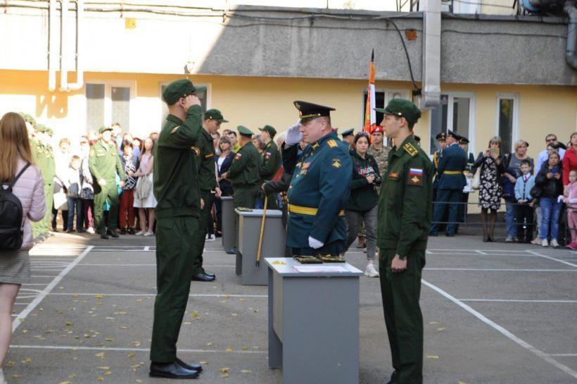 Военный учебный центр торжественно открылся в ИГУ