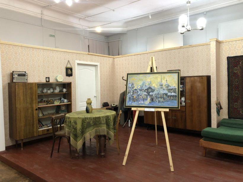 «Выставка одной работы» представлена в отделе истории ко Дню Иркутской области