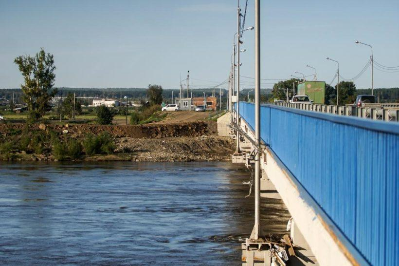 В части районов Приангарья, пострадавших от паводков, завершили восстановительные работы на объектах гидрозащиты