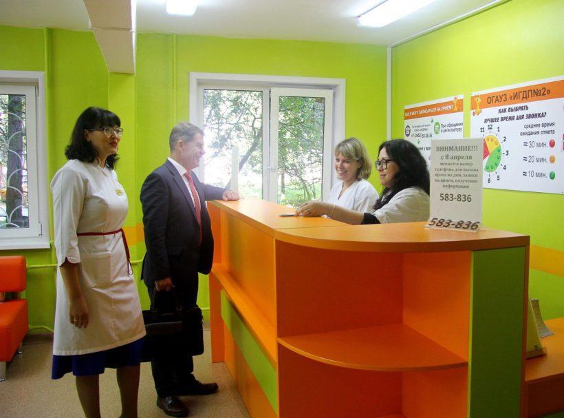Минздрав ищет участок под строительство в Иркутске нового здания детской поликлиники №2