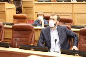 Первое заседание депутатского штаба по нераспространению коронавируса прошло в ЗС Приангарья