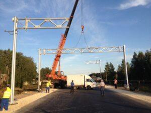 Шесть автоматизированных пунктов весогабаритного контроля установят в Приангарье в 2021 году