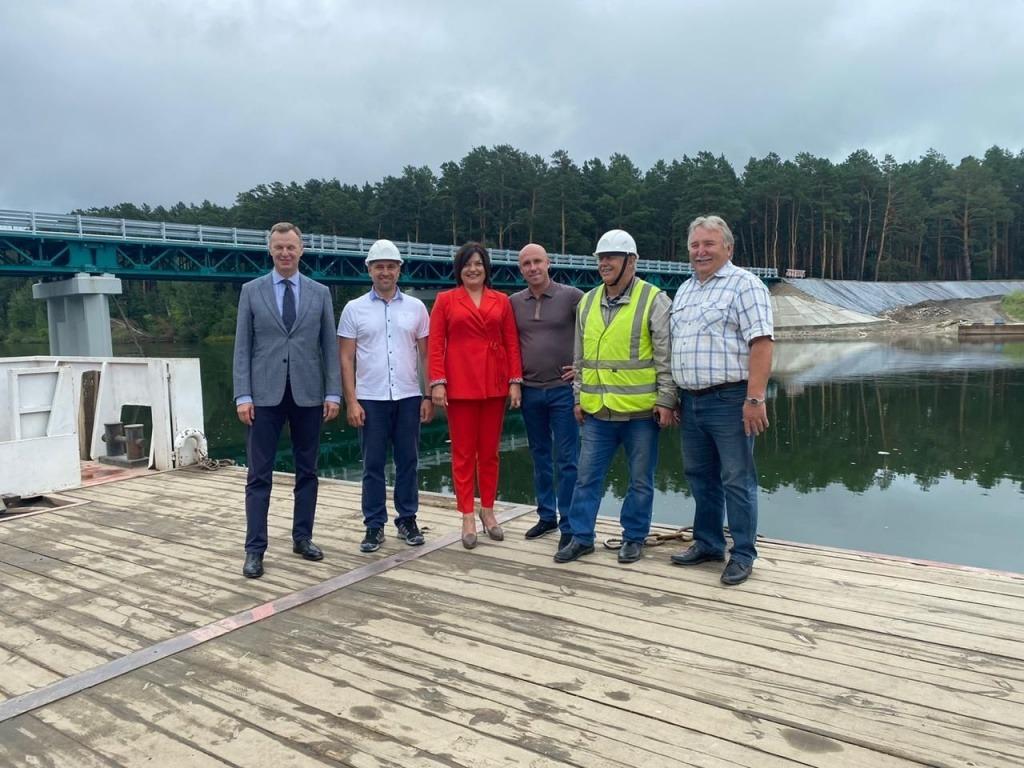 Мост через реку Большая Белая откроют в Черемховском районе в середине августа