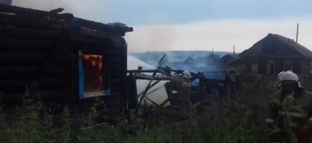 Мужчина погиб на пожаре в городе Иркутске