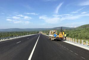"""Строительство участка трассы Р-258 """"Байкал"""" выполнено на 95 процентов"""