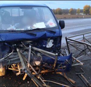 В Куйтунском районе водитель протаранил металлическое ограждение и погиб на месте ДТП