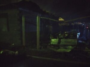 Мать и двое детей погибли на пожаре в Нижнеудинске