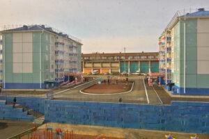 Новые дома в Тулуне от РЖД. Фото