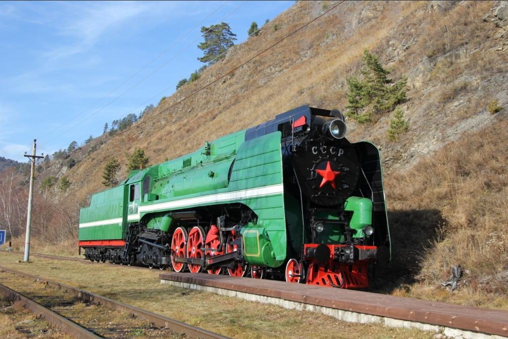 Раритетный паровоз, который более 30 лет простоял в качестве памятника будет возить туристов по КБЖД