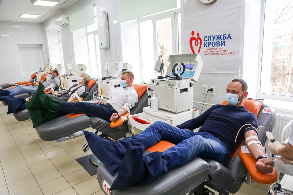 Депутаты Думы Иркутска стали донорами