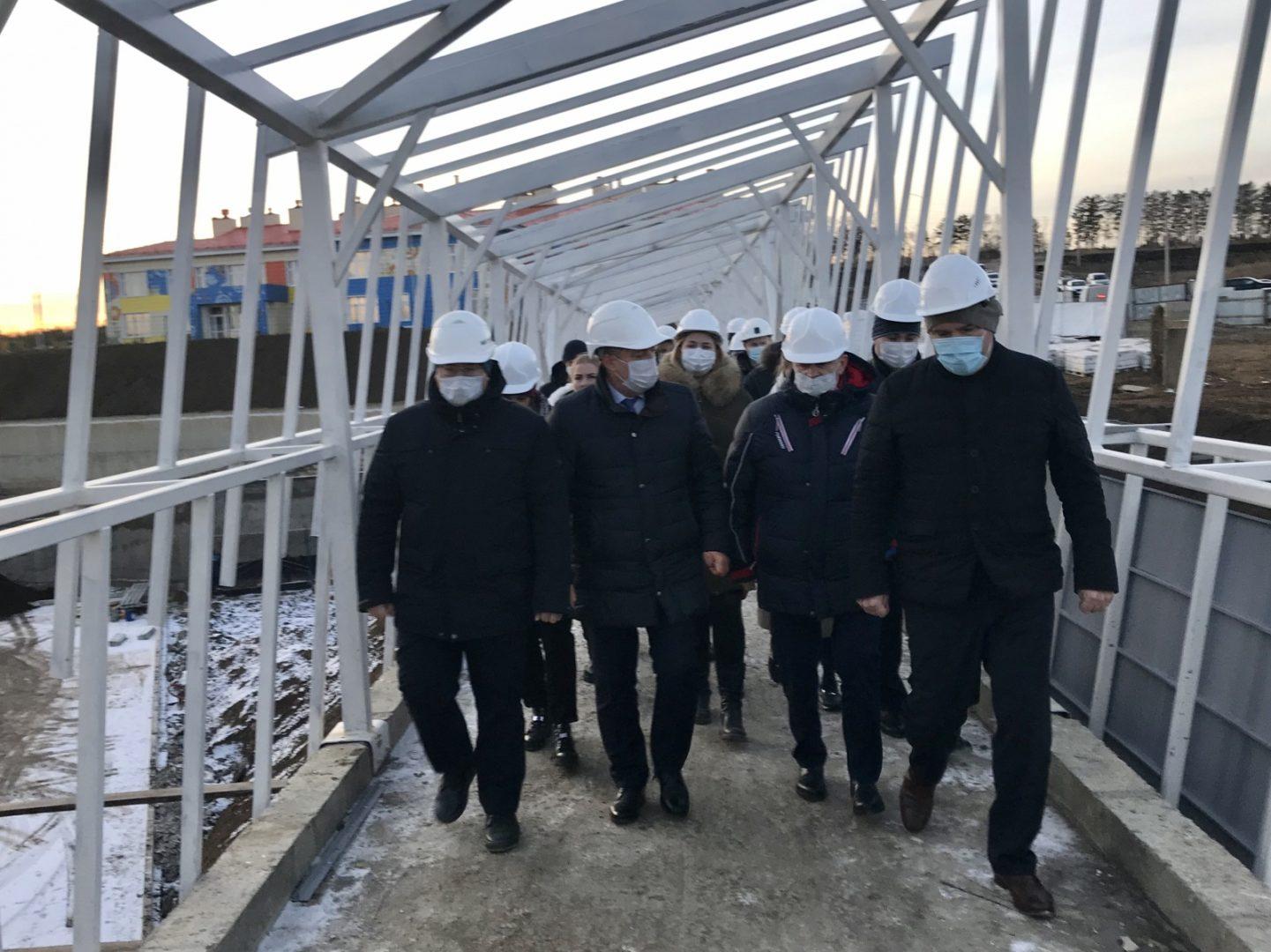 Школу в поселке Маркова Иркутского района достраивают