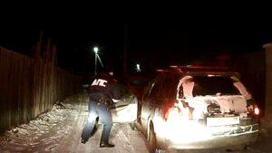 Пьяная автоледи устроила погоню с полицейскими в Ангарске