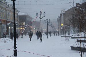 Сильный ветер и мокрый снег передают на 15 апреля в Иркутской области