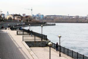 Небольшой дождь передают на 9 мая в Иркутске