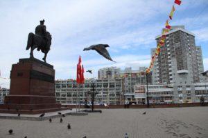 Иркутск и голуби