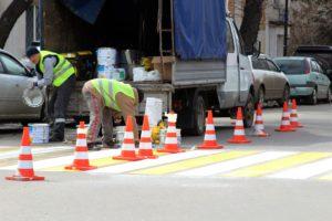 В Черемхово начали ремонтировать дороги по нацпроекту БКАД