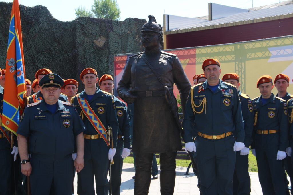 img 7018 1024x683 - Памятник первому брандмайору города открыли в Иркутске. Фоторепортаж