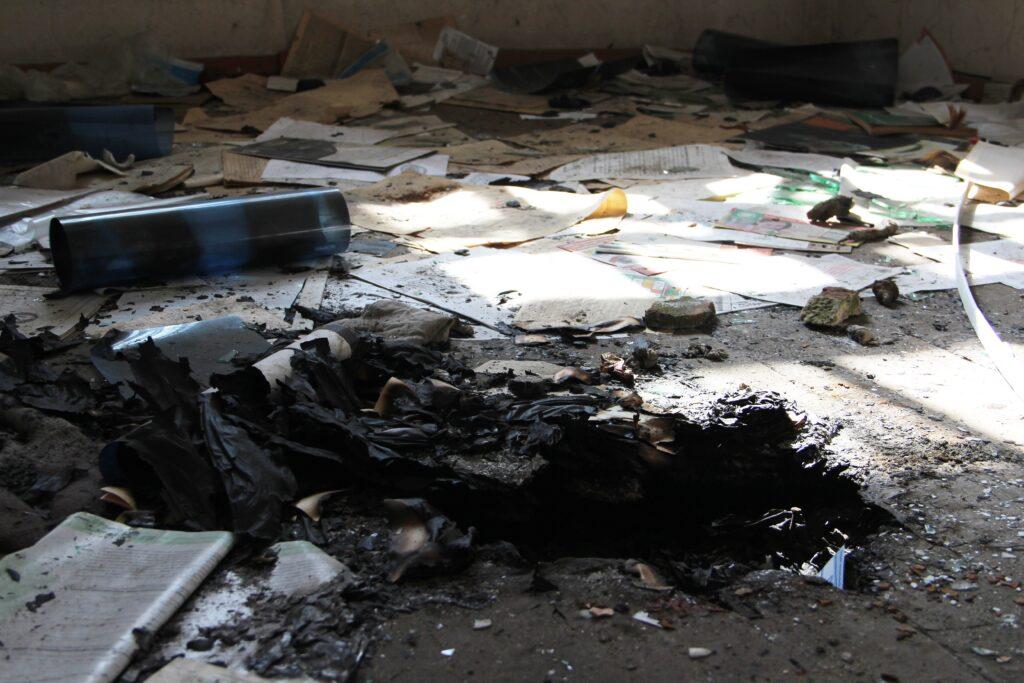 Александровский централ: пустота и сырость развалин